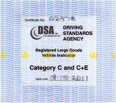 DSA Instructor Certificate