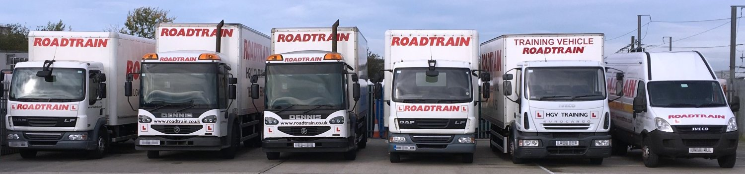 RoadTrain HGV / LGV and PCV / PSV Training, Essex, Kent and London